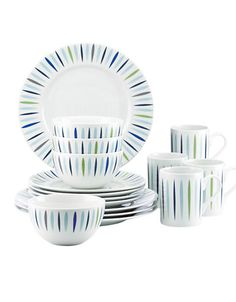 Marques | Services de vaisselle | The Burbs 16 Piece Dinnerware Set | La Baie D'Hudson