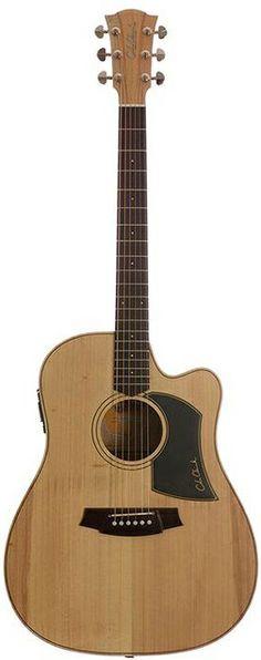 Cole Clark Guitars Fat Lady I Series CCFL1EC-BB Bunya Top w Tasmanian Blackwood Back and Sides