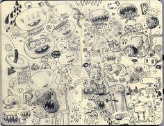 Jim Bradshaw Illustration: Moleskine Goodness