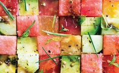 Tomato and Watermelon Salad / Photo by Maren Caruso