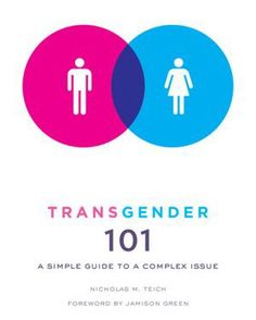 Transgender 101 by  Nick Teich ~ Here are some chapter headings: Sexual Orientation Vs. Gender; Coming Out as Transgender; Transition: The Social, the Emotional, and the Medical Discrimination.
