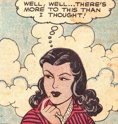 "comicslams: "" Patsy Walker, Vol. 1 No. Comic Art, Comic Books, Comic Book Panels, Telling Stories, Vintage Comics, Funny Comics, The Funny, Disney Characters, Fictional Characters"