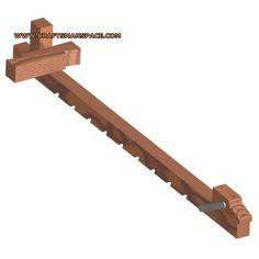 Wooden bar clamp plan