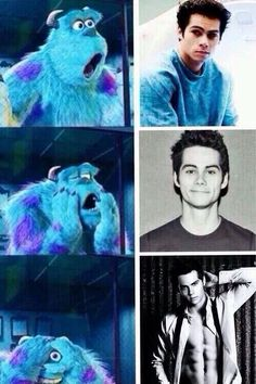 dylan o'brien + my reaction