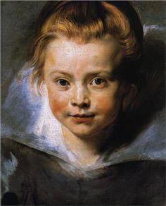 Portrait of Clara Serena Rubens - Peter Paul Rubens