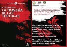 Presentación de La travesía de las tortugas, libro sobre los normalistas de Ayotzinapa