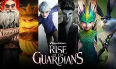 """#Rise of the #Guardians (I was wondering what all those """"Jack and Elsa"""" Pictures are about, so I watched the Film yesterday, and I really liked it)"""