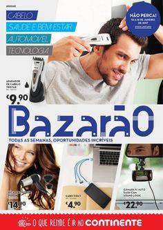 Folheto Continente Bazarão 10 Janeiro #Continente #Bazarão