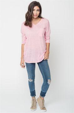 Heathered Pocket Tunic | Small-XL