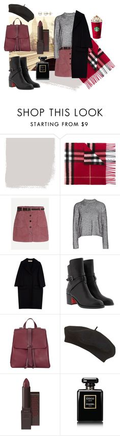 """#11"" by makeemwhistle on Polyvore featuring мода, Burberry, T By Alexander Wang, Marni, Christian Louboutin, Jigsaw, Topshop и Chanel"