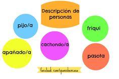 Describir carácter de personas con palabras informales: pijo/a, friqui, cachondo/a, apañado/a, pasota. Explicaciones del blog Spanishencasa.