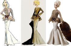 capucine barbie doll robert best collage