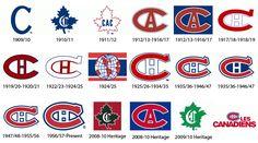 Logo History: Montreal Canadiens - JODSGN Montreal Canadiens, Mtl Canadiens, Canadian Things, Canadian Boys, Canadian History, Hockey Mom, Hockey Teams, Hockey Stuff, Hockey Girls
