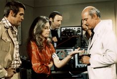The Six Million Dollar Man 1974 - 1978  Col. Steve Austin - Lee Majors  Oscar Goldman - Richard Anderson  Dr. Rudy Wells - Martin E. Brooks  Jamie Sommers - Lindsay Wagner