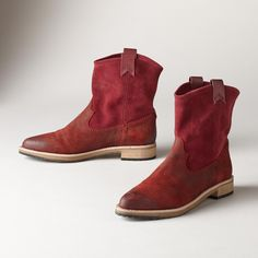CASSIDY SHORT BOOTS -- Velvety smooth suede is beautifully burnished for an unrivaled finish in these timeless boots from Matt Bernson. Easy fit with leather pull-tabs. Whole and half sizes 6 to heel. Western Boots, Cowboy Boots, Made Clothing, Boot Shop, Short Boots, Walk On, Suede Boots, Riding Boots, Footwear