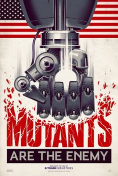 X-men Poster by Justin Erickson