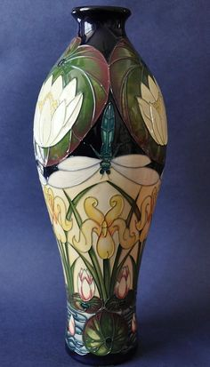 Moorcroft Pottery Tranquility 42/12 Rachel Bishop Limited Edition of 100 http://www.bwthornton.co.uk/moorcroft.php