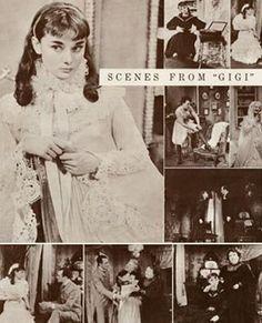Gigi commemorative program.   Audrey Hepburn Estate Collection.