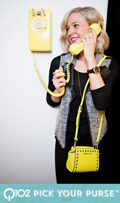 Michael Kors - Selma Stud Mini Messenger. Go to wkrq.com to find out how to play Q102's Pick Your Purse!
