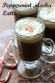 Peppermint Mocha Latte #SaecoLover by Noshing With The Nolands
