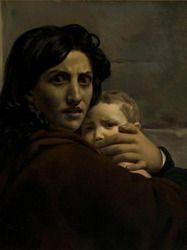Léon Cogniet (1794-1880), «Le massacre des Innocents» vers 1824, Orléans, musée des Beaux-arts. Exposition au musée de la vie romantique jusqu'au 28 février 2016