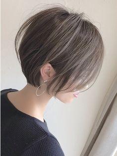 Asian Short Hair, Girl Short Hair, Short Hair Cuts, Shot Hair Styles, Curly Hair Styles, Short Hairstyles For Women, Bob Hairstyles, Haircuts, 90s Grunge Hair