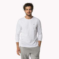 Tommy Hilfiger Cotton Jersey Crew Neck Shirt - white (White) - Tommy Hilfiger Lounge & Sleepwear - main image