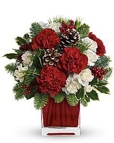 Make Merry by Teleflora Flower Arrangement - Teleflora