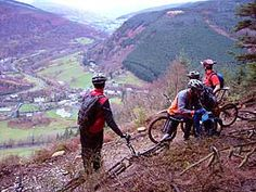 Dyfi Valley mountain bike