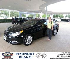 #HappyAnniversary to Shelley Lynn on your 2013 #Hyundai #Sonata from Frank White at Huffines Hyundai Plano!