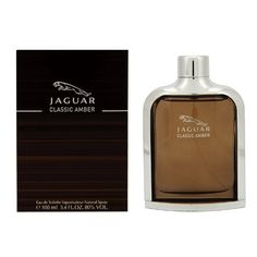 Jaguar Classic Amber Eau De Toilette Spray for Men, 3.4 Ounce by Jaguar. $21.41. 100ml/3.3oz. Classic Amber. This was launched by the design house of Jaguar in the year 2011.The nose behind this fragrance is Dominique Preyssas.Top notes are Grapefruit, mandarin, petit grain and pink pepper; middle notes are Apple, cinnamon, elemi resin, black pepper and orange blossoms. Base notes are Cedar wood, patchouli, vanilla, leather, vetiver, labdanum and musk.This frag...