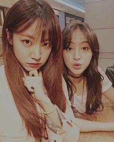 kim namjoo de Apink y jung hye sung