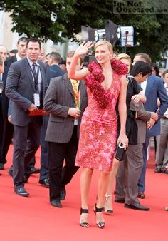 Charlize - beautiful in red @ Moscow Film Festival 19 JUN …   Flickr