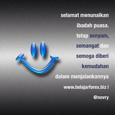 #Pagi dunia. Selamat menunaikan #Ibadah #Puasa bagi rekan #Muslim. Tetap #senyum, #semangat dan semoga diberi kemudahan dalam menjalankannya.
