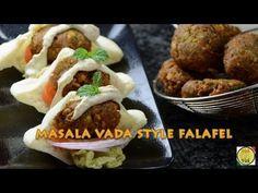 Masala Vada Style Falafel - By Vahchef @ vahrehvah.com - YouTube