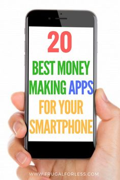 Here are 20 of the highest paying apps for your smartphone. Get paid to read emails, participate in surveys that pay and ultimately make money from home or while on the go. All of these money making apps are 100% and are simple to use. I personally find them a great way to improve my side hustle. This is great for Frugal Living.