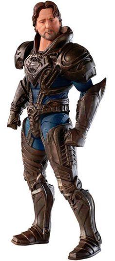 Russell Crowe as Jor-El - Mattel MAN OF STEEL Movie Masters