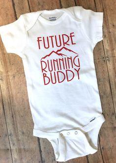 Future Running Buddy Bodysuit Romper Creeper Baby by TulipVine