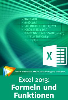 Excel Formeln und Funktionen-Excel Kurs Excel Formulas and Features-Excel course Technology Hacks, Technology Gifts, Computer Internet, Futuristic Technology, Microsoft Excel, S Pic, Software, Presentation, About Me Blog