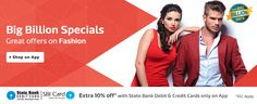 #Flipkart #BigBillionDay sale is running. Today super exciting offers on #fashionproducts & accessories. Sale on 13th to 17th Oct.