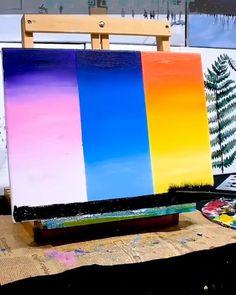 Oil painting Flowers art landscape wall art konda art landscape oil painting on canvas flower in van gogh painting Canvas Painting Tutorials, Easy Canvas Painting, Diy Canvas Art, Summer Painting, Art Painting Gallery, Acrylic Art, Acrylic Paint On Canvas, Summer Art, Creative Art