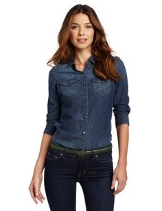 Calvin Klein Jeans Women's Fitted Denim Shirt | Jeans Underground