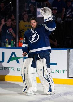 The new celebrity crush^_^ Ben Bishop Tampa Bay Lightning Usa Hockey, Hockey Baby, Hockey Goalie, Hockey Teams, Hockey Players, Bay Sports, Sports Day, Sports Teams, Tampa Bay Fl