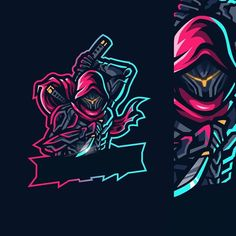 I would consider this type of logo design, as it might be the one for me to try and create an avatar type of character Team Logo Design, Logo Desing, Mascot Design, Picture Logo, Photo Logo, Logo Esport, Ninja Logo, Best Gaming Wallpapers, Youtube Logo