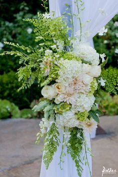 fresh green wedding, Franciscan Gardens, Polder Photography, www.agoodaffair.com