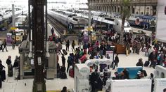 Estacione del tren de París- gare de Lyon