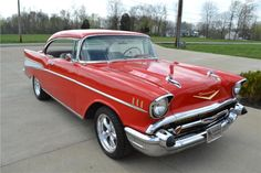 1957 CHEVROLET BEL AIR CUSTOM 2 DOOR HARDTOP