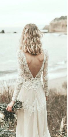 - Cotton Lace Open Back Bohemian Wedding Dress . Lisa - Cotton Lace Open Back Bohemian Wedding Dress .Lisa - Cotton Lace Open Back Bohemian Wedding Dress . Lisa Lace Bohemian Wedding Dress Cotton Lace with OPEN BACK Vintage Lace Weddings, Bohemian Wedding Dresses, Vintage Dresses, Dress Wedding, Elegant Dresses, Bohemian Weddings, Hair Wedding, Bohemian Beach, Outdoor Wedding Dress