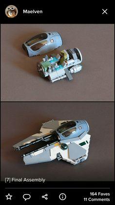 Maelven's eta-2 actis class Jedi interceptor Flickr