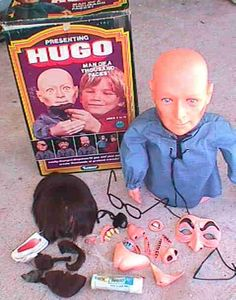 Hugo the man with 1000 faces. You could put all different disguises on the guy! It was pretty creepy, but the commercials made it seem fun. 70s Toys, Retro Toys, Vintage Toys, Children's Toys, Vintage Games, Childhood Toys, Childhood Memories, 1970s Childhood, Ol Days